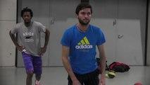 La minute bleue - Coupe Davis : Monfils et Simon prennent leurs marques