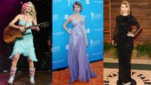 Beauty Evolution - Taylor Swift's Style: Cowboy Boots to Crop Tops