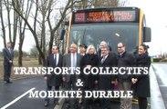 Alain Vidalies à Béthune dans le Nord-Pas de Calais - Transports collectifs et mobilité durable