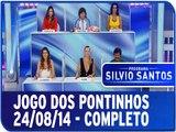 Programa Silvio Santos - Jogo dos Pontinhos 24/08/14