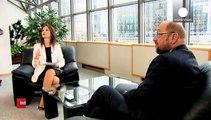 """Grecia: Schulz a euronews """"Tsipras chiarisca la linea all'interno del suo esecutivo"""""""