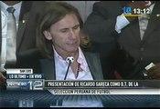 Selección Peruana: Ricardo Gareca conoce el medio peruano (VIDEO)