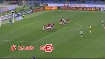 Roma 0-1 Juventus Carlos Tevez Freekick 2.3.15