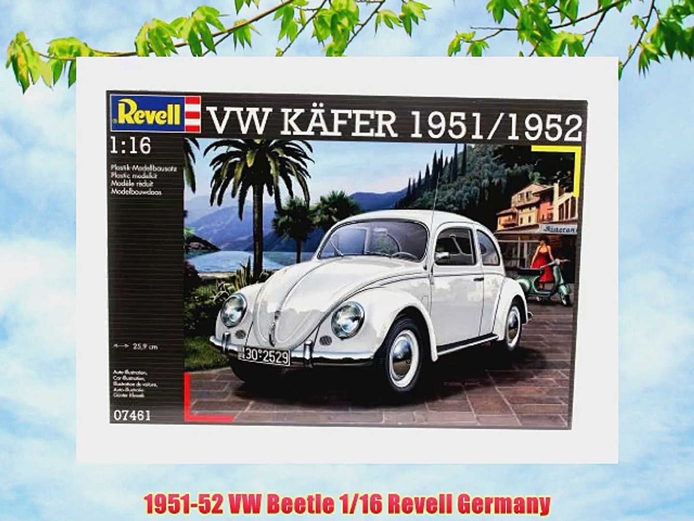 1951-52 VW Beetle 1/16 Revell Germany