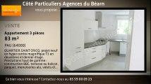 A vendre - appartement - PAU (64000) - 3 pièces - 83m²