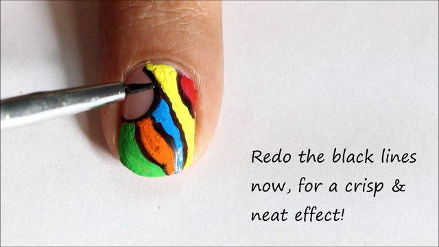 Crazy Colors!!!  ➹✦  Fun Abstract Nail Designs Colorful