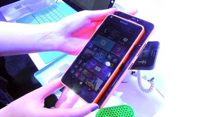 MWC 2015 : Microsoft Lumia 640 XL