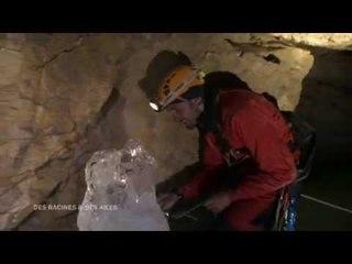 DRDA : Sur la Route Napoléon - Glacier souterrain dans le Dévoluy