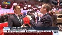 Renault présente son nouveau crossover Kadjar au Salon de l'automobile à Genève: Carlos Ghosn - 03/03