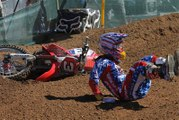 Compilation de chutes en moto cross freestyle