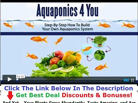 Buy Aquaponics 4 You Discount + Bouns