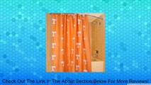 """Tennessee Volunteers 70"""" x 72"""" Printed Shower Curtain Review"""