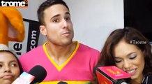 """Gino Assereto: """"Hay amor por Jazmín Pinedo, pero hemos decidido no mezclar las cosas"""""""