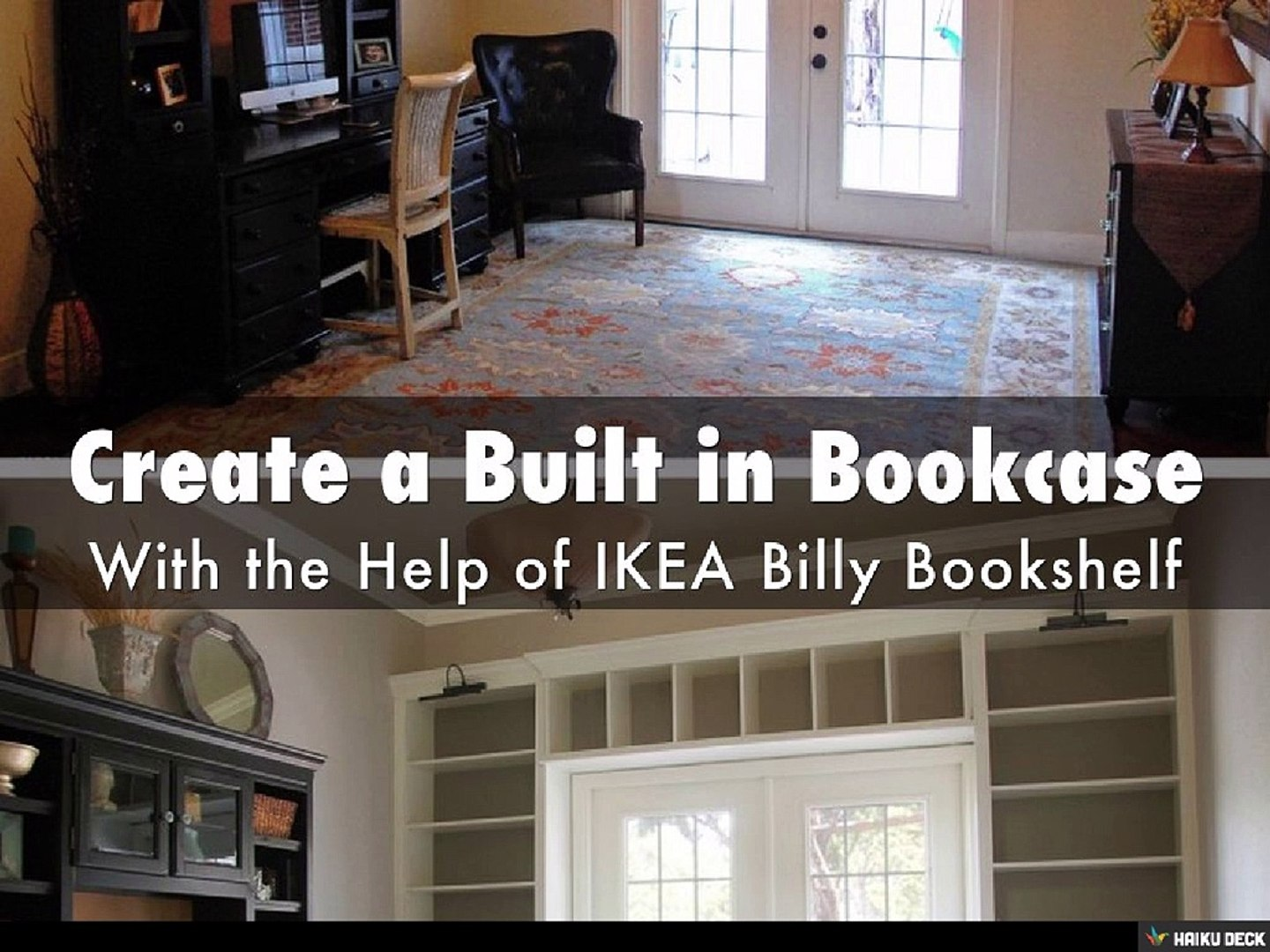 Janet Firth Create A Built In Bookcase With A Billy Bookshelf From Ikea