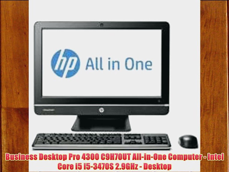Business Desktop Pro 4300 C9H70UT All-in-One Computer - Intel Core i5 i5-3470S 2.9GHz - Desktop