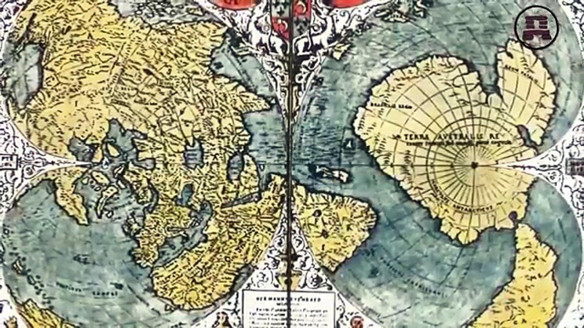 Карты Земли составлены 30 000 000 лет назад. Александр Колтыпин