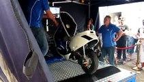 Polini Evo SBO Zip op testbank bij open dag Scooter Center Helmond