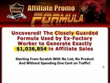 Affiliate Promo Formula Review Affiliate Promo Formula - Learn The Truth [EXCLUSIVE REPORT]