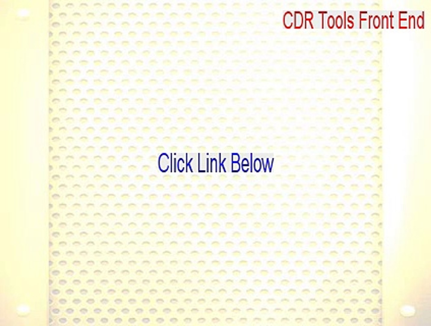 CDR Tools Front End Download - cdr tools front end download 2015