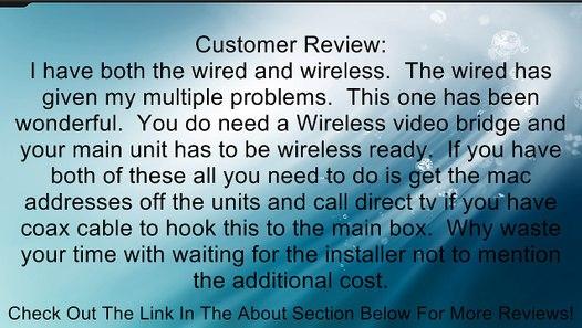 Directv C41w Wireless Genie Mini  Client  Review