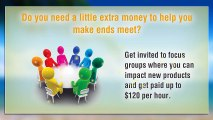 How To Make Extra Cash In Your Spare Time   Paid Surveys   Only Available For US Residents!