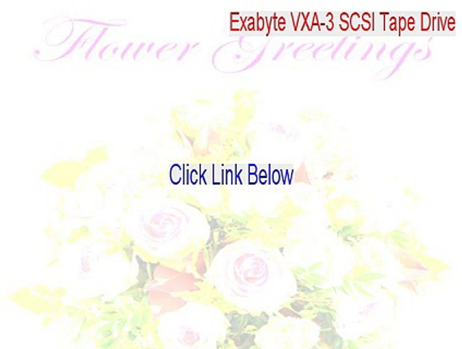 EXABYTE VXA 3 DRIVERS WINDOWS 7 (2019)