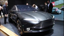 Salon Genève 2015 : l'Aston Martin DBX Concept en vidéo