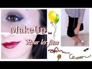 GRWM : Maquillage pour les fêtes