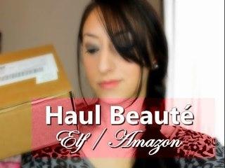 Vidéo Haul beauté #1 _ ELF / Amazon