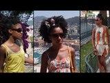 Summer Hairstyles Ideas | Idée Coiffures d'été cheveux frisés crépus