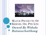 Major Products Of Kernel Oil Pte Ltd owned by Widodo Ratanachaithong