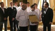 Déclaration lors de la réception des lauréats du concours de l'Assiette Gourm'hand