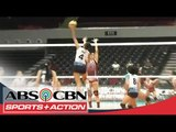 UAAP 77: AdU Lady Falcons with a combination play!
