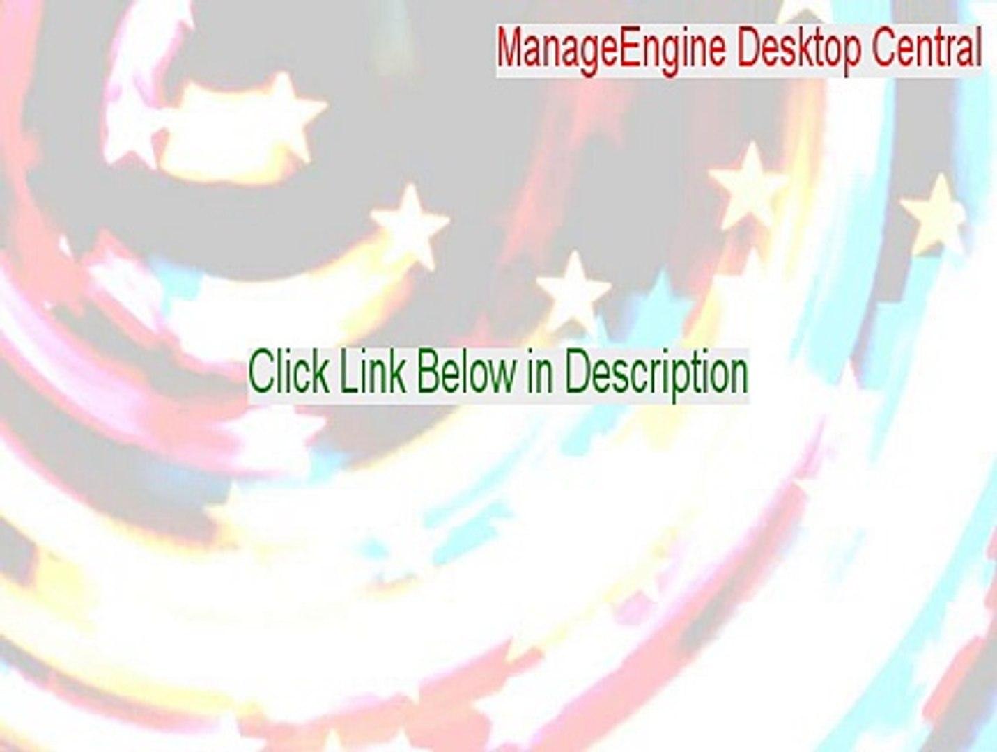 ManageEngine Desktop Central Keygen (Download Now 2015)