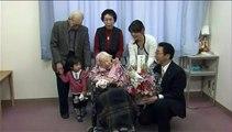 Doyenne de l'humanité depuis deux ans, la Japonaise Misao Ohkawa fête ses 117 ans