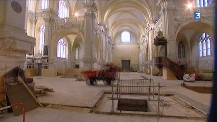 Rouen : travaux hors-du-commun à la chapelle Corneille