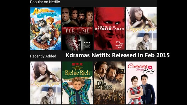 Korean Dramas Release on Netflix in February 2015 List