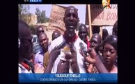 Les enseignants de Thies en gréve pour soutenir les enseignants de Dakar