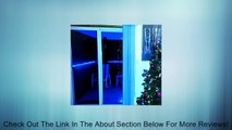 Blue LED Flexible Rope Light VALUE PACK (2 X 10.6FT LED Flexible Rope Light + 1 X 6FT Power Cord) For Indoor/Outdoor Lighting, Home, Garden, Patio, Shop Windows, Christmas, New Year, Wedding, Party, Event. 21FT in total after connecting two rope lights! R