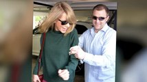Taylor Swift Tries To Avoid Photographers In West Hollywood