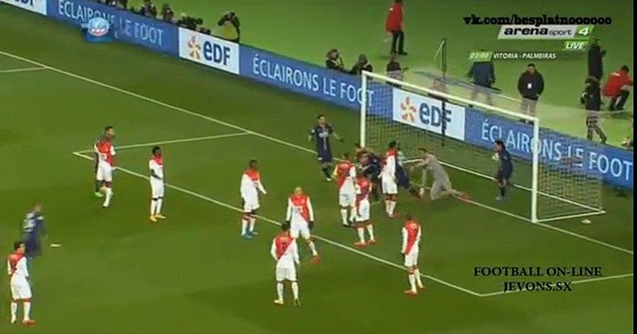 All goals and highlights - PSG  vs  Monaco  (2-0)  04-03-2015