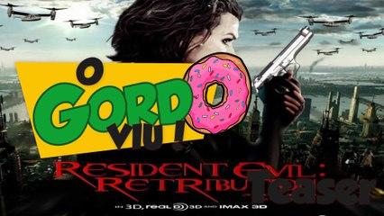 Teaser - Resident Evil 5 Retribuição - Gordo Viu