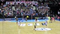 Chambéry 25 - 24 Nantes - Fin de match tendue - 4/03/2015