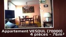 A vendre - Appartement - VESOUL (70000) - 4 pièces - 76m²