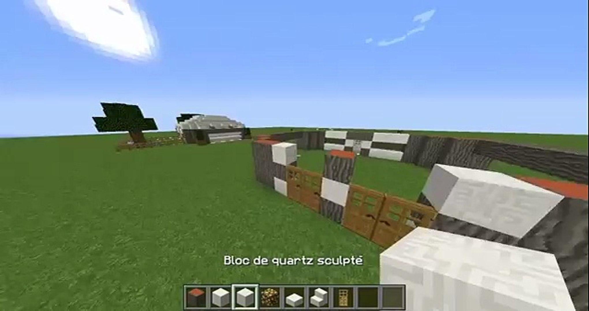 Tuto Minecraft Petite Maison Moderne Video Dailymotion