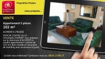 A vendre - appartement - ACHERES (78260) - 5 pièces - 102m²