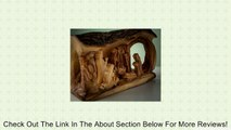 Nativity - Olive Wood Large Log Nativity Review