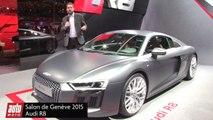 Audi R8 2 V10 et Audi R8 e-tron - Salon de Genève 2015 : présentation live AutoMoto