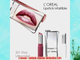 L'oreal - LOREAL LABIAL INFALIBLE 201