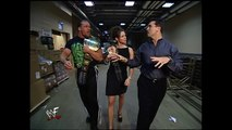 Stephanie McMahon, Triple H and Shane McMahon Backstage Segment